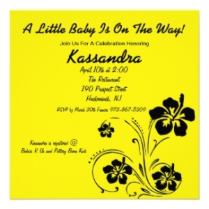 babyshower invitation sample_1